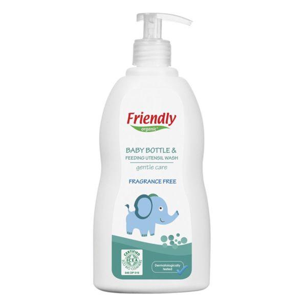 Friendly  Препарат за ръчно измиване на бебешки шишета и съдове 500 мл. 01802